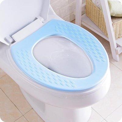 夏季薄款衛生間墊1個防水通用坐墊夏天馬桶坐便套廁所水洗衛生