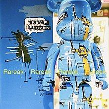 Medicom 2019 Bearbrick Jean-Michel Basquiat 1000% ver. 4 be@rbrick 1pc