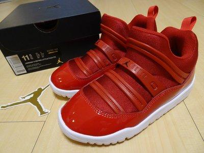 NIKE JORDAN 11 RETRO LITTLE FLEX 毛毛蟲懶人鞋小童鞋 AJ11好穿脫BQ7101-623