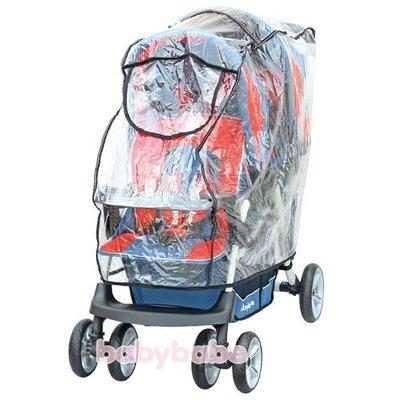 ☆╮花媽╭☆同富babybabe 安全反光防風防雨罩XXL B01315 適用於大型歐式嬰幼兒手推車及前後座雙人推車