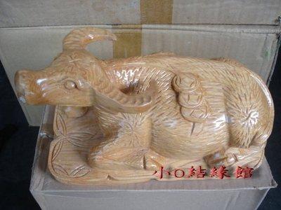 小o結緣館仿古家具…水牛''臥牛'''台灣精神(越南檜木)22x12x12.5