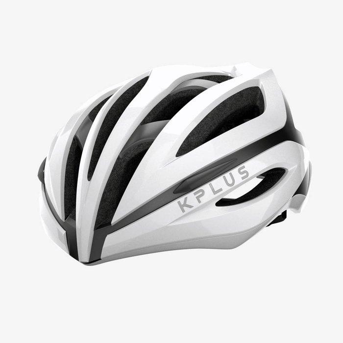 【三鐵共購】【KPLUS】SUREVO S系列一般色公路競速單車安全帽-白