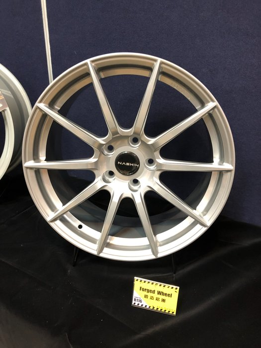 DJD19042919 世盟 Nashin 鋁圈 鍛造鋁圈 單片式鋁圈 輕量化