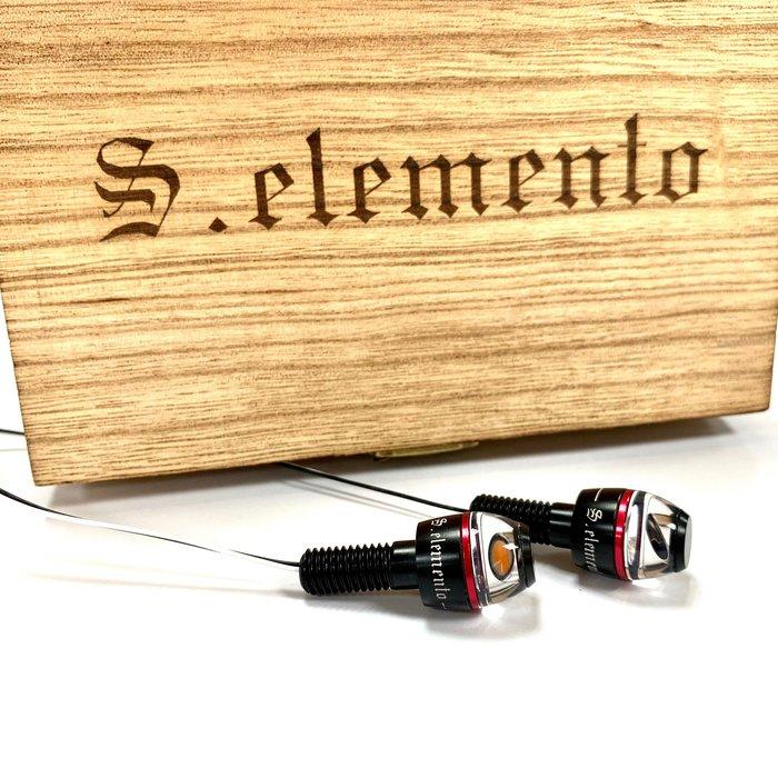 S.elemento Nano LED 方向燈 高亮度 通用款 重機 擋車 Caferacer 經典 E-mark 外銷