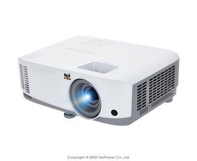 PG603X ViewSonic WXGA USB 讀取投影機 3600流明/1024x768/10W喇叭/高對比/悅適