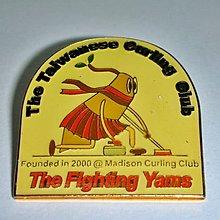L集.全新THE TAIWANESE CURLING CLUB台灣冰壺俱樂部勳章/徽章/紀念章!--值得擁有!
