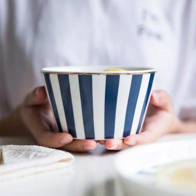 碗 泡麵碗 餐具 碗盤摩登主婦歐式藍金字母系列陶瓷餐具碗盤家用創意西餐盤早餐盤菜盤