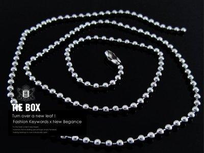 【鐵BOX】50cm鈦鋼珠鍊 白鋼鍊 ...