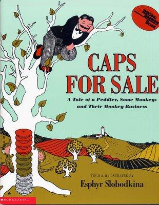 *小貝比的家*CAPS FOR SALE【72】(中譯:賣帽子) /平裝/4-5歲中班/幽默 Humor