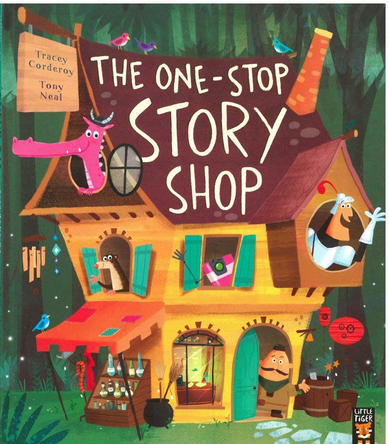*小貝比的家*THE ONE STOP STORY SHOP/平裝/3~6歲/ 幽默 Humor