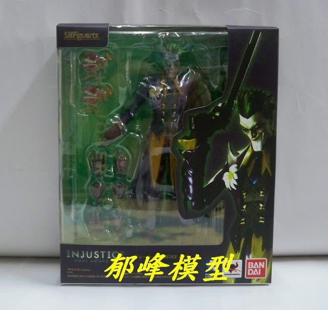 郁峰模型 ~ S.H.Figuarts ( SHF ) 反亂軍版小丑 THE JOKER INJUSTICE ver.