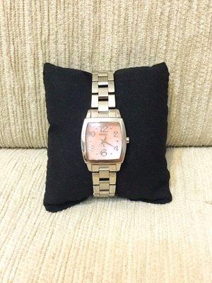 天使熊小鋪~日本SEIKO不銹鋼女錶 LUKIA貝殼錶酒桶防水錶 9.5成新 原價15000