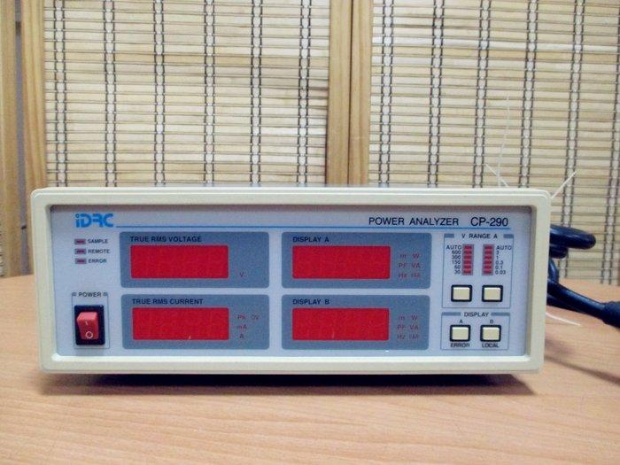 康榮科技二手測試儀器IDRC CP-290 (CP290) 600V 3A 1800W Power Meter 功率表