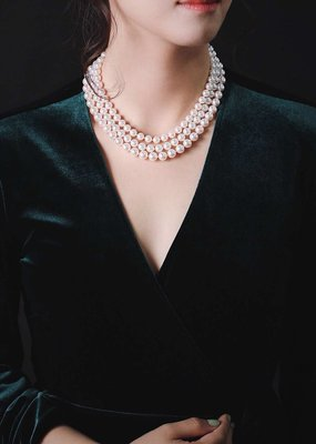 日本直發 天然阿古屋海水真珠 日本真珠科學研究所天女大證書7.5-8 8-8.5 9-9.5 三種尺寸
