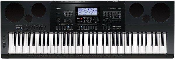 ☆ 唐尼樂器︵☆ CASIO 卡西歐 WK-7600 76鍵電子琴(全新高階琴款,附琴袋超值配件現場教學)