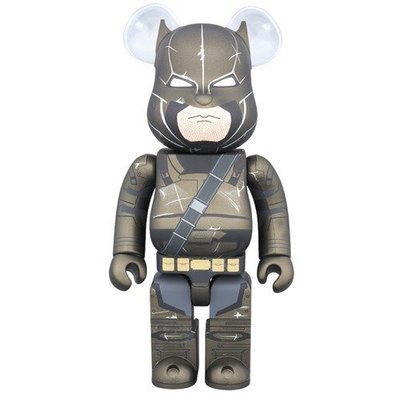 全新 Medicom Bearbrick 400% DC Batman v Superman Armored Batman Be@rbrick