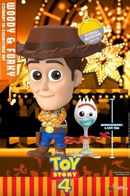 cosbaby Woody and forky
