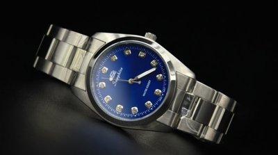 168錶帶配件 /送給老爸最佳禮物,辨識度最高國民時尚不鏽鋼石英錶款,清晰水鑽刻度!日本製2035石英機心,有口皆碑