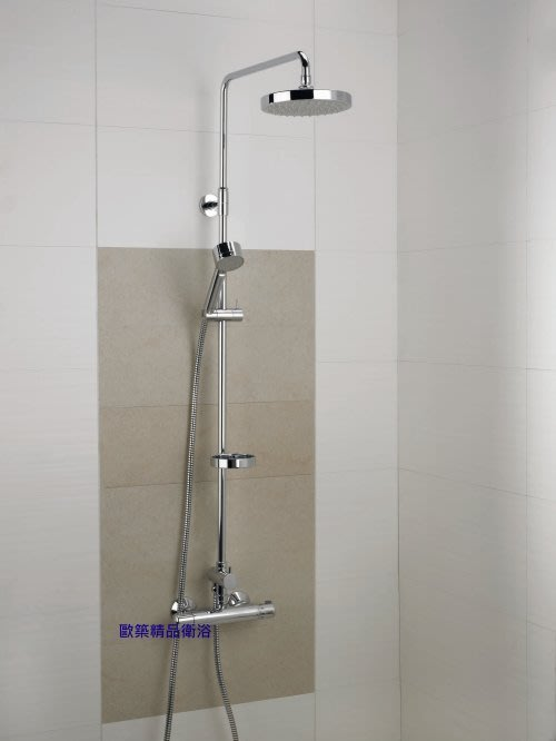 【歐築精品衛浴】DAMIXA《丹麥》✰AKITA系列恆溫淋浴花灑-無下出水40910