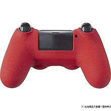 PS4日本CYBER 新版 HIGH GRIP 2 DS4 手把控制器防塵果凍套 防滑 矽膠套保護套 紅色款【板橋魔力】
