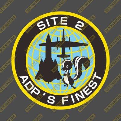 洛克希德馬丁 APD FINEST 高級開發計劃 SR-71 U-2 臭鼬 圓形徽章 3M防曬防水貼紙 尺寸88mm