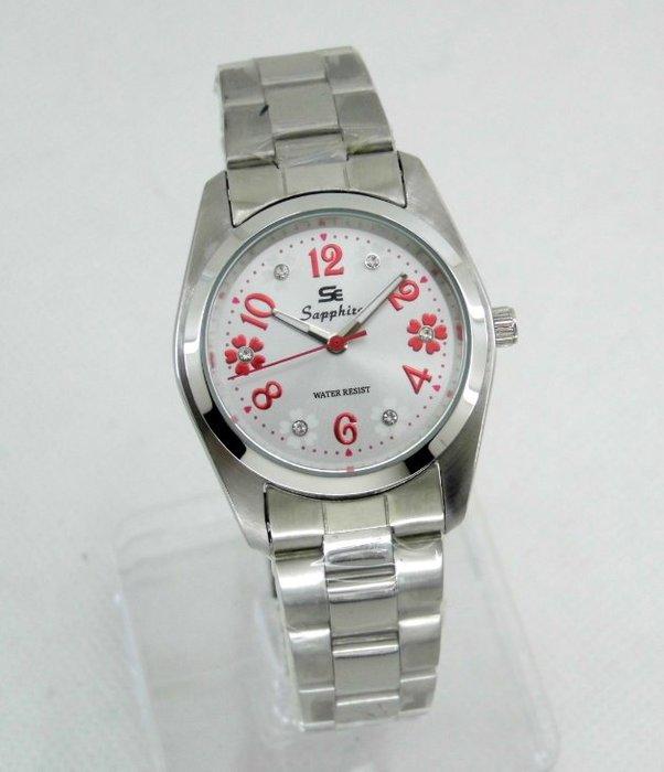 【 幸福媽咪 】網路購物、門市服務 Sapphite 莎法雅 日本機芯 防水石英女錶 31mm