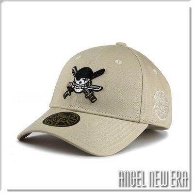 【ANGEL NEW ERA 】ONE PIECE 海賊王 航海王 索隆 奶茶白 限定 限量 潮流 老帽 穿搭 獨家