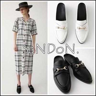 山東:實拍 MOUSSY 春夏主打目錄款 簡約時尚感 金屬扣環裝飾低跟懶人鞋 穆勒鞋 180504