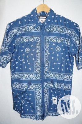「NSS』Adidas Neighborhood NH Bandana Sh 短袖 襯衫 XS S M L