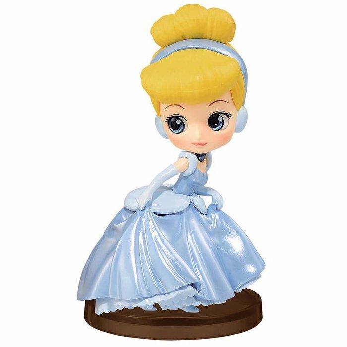 迪士尼 Q POSKET PETIT 公主系列 QPOSKET 珍珠色 灰姑娘 仙杜瑞拉