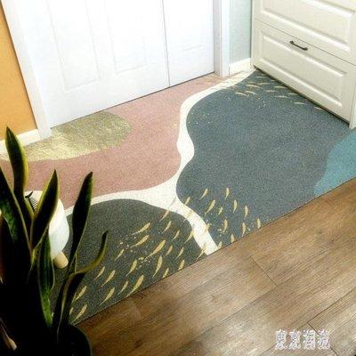 入戶門墊進門地毯北歐家用玄關腳踏蹭地墊塑料絲圈PVC墊子可裁剪