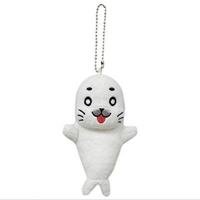 ❤Lika小舖❤現貨 日本帶回 正版少年阿貝 高約10cm吊飾玩偶 全新附吊牌 開心海豹布偶 海獅海狗娃娃 包包掛飾