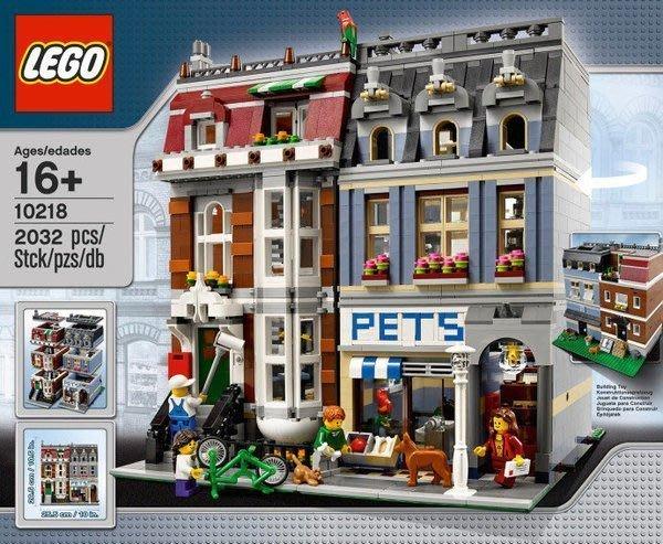 【美國正品樂高LEGO】樂高Lego 10218 Pet Shop 寵物店*全新未拆含盒$6999*特價免運費