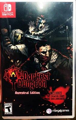 中古 NS Switch 暗黑地牢 年度版 簡體中文 Darkest Dungeon