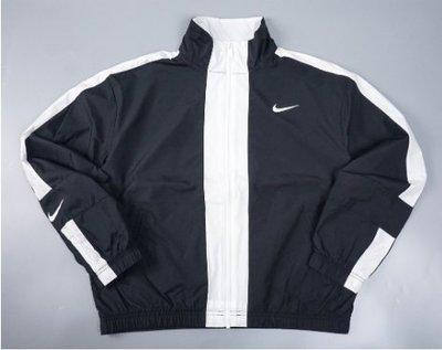 nike sportswear repel 短版 風衣 防風 外套 聚酯纖維 cz8801-010 黑 女