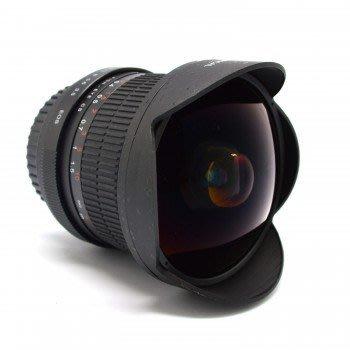 高雄 晶豪泰 單眼相機 專用鏡頭 8mm 167° 魚眼鏡頭 超廣角鏡頭 適用d7100 d90 d5100