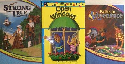 珮珮百寶屋💎Abeka Strong and True+Paths to Adventure+Open Windows