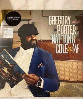 (全新品)葛雷哥萊波特 Gregory Porter - Nat King Cole & Me 限量雙碟彩膠 黑膠LP
