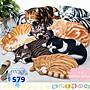 JYUN'S 新品3D立體貓咪地墊陽台地毯家用臥室...
