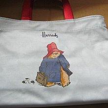 HARRODS 小PVC袋 (PADDINGTON BEAR)