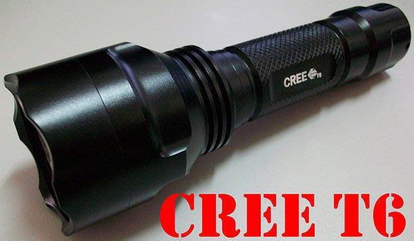 一次破壞行情!!優質正廠 CREE T6-U2 C8 強光戰術手電筒【有記憶檔功能】!再升級保護版鋰電