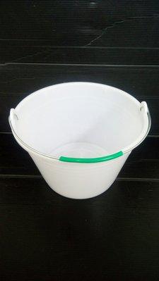 金便宜五金! 正台灣製 PVC漆桶 白色塑膠 塑膠桶 油漆桶 水桶 小提桶 容量約 5公升 桶子 批發價
