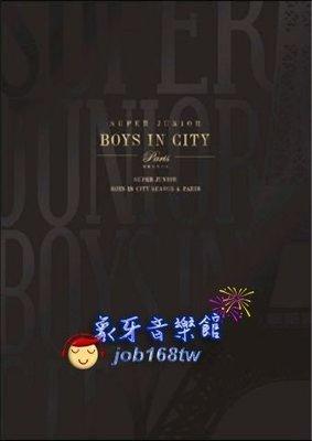 【象牙音樂】人氣男團體-- Super Junior Boys in City Season 4. Paris (Normal Edition)