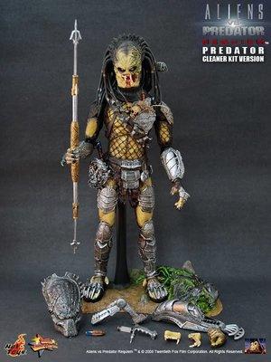 金錢貓雜貨 全新 HOT TOYS 異形戰場 Alien vs. Predator MMS066  獨狼 清道夫
