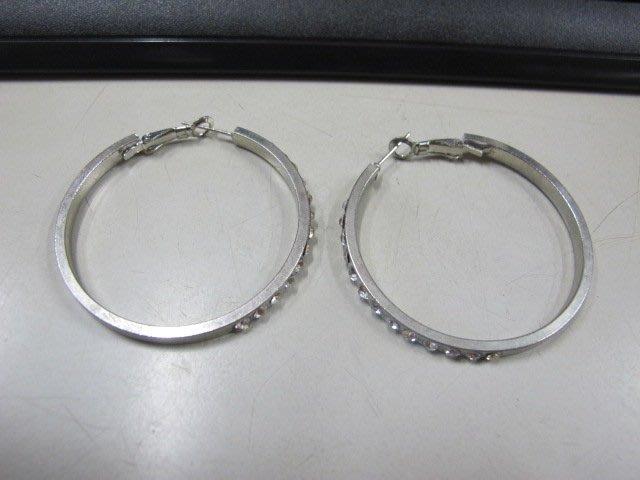 二手舖 NO.4549 時尚造型耳環 耳針 耳鉤 便宜賣 首飾飾品