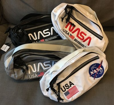 現貨 美國 Hudson x Nasa Worm Meat Ball Fanny Pack 聯名腰包 斜背包