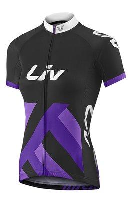 全新 新款 捷安特 GIANT Liv RACE DAY 女短袖車衣 女性專業級車衣 黑紫