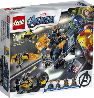 【鄭姐的店】樂高 76143 SUPER HEROES 系列 - Avengers Truck Take-down