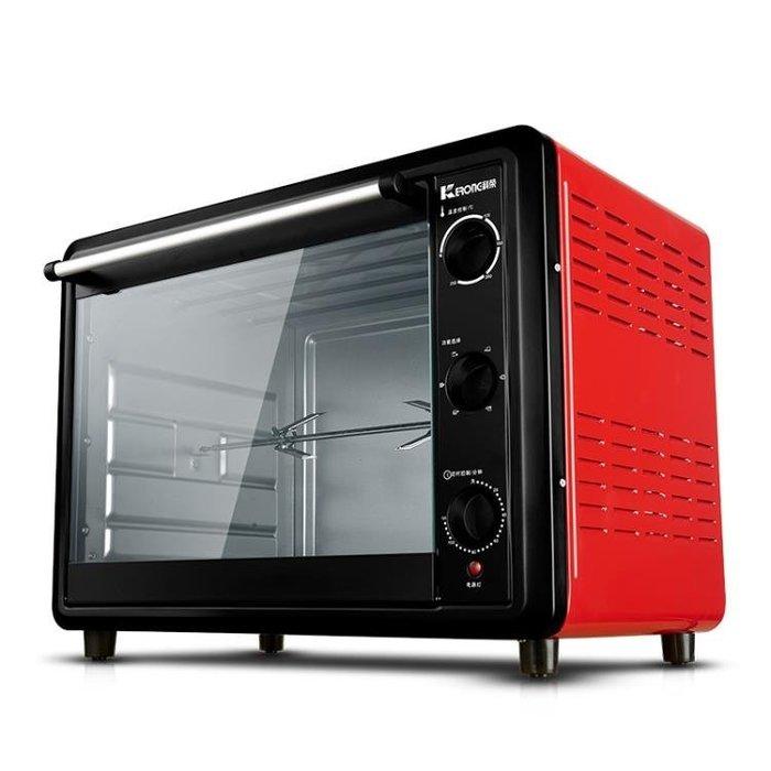 烤箱 60升大容量電烤箱商用家用家庭蛋糕烤叉科榮 KR-50-60(A)HM