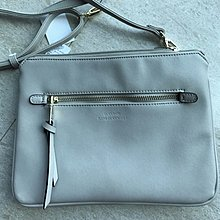 購於日本 淺灰色 簡約時款手袋